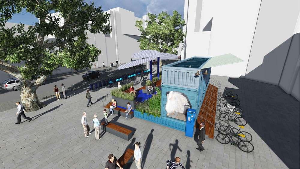 SoapBox — Earthenware Landscape Architects on storage box houses, cereal box houses, soap stone houses, salt box houses,