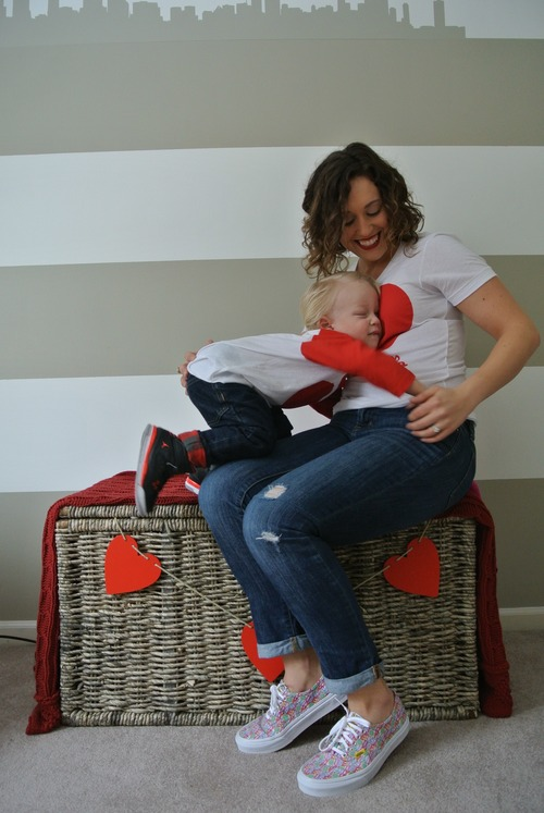 hugs toddler heart shirts love