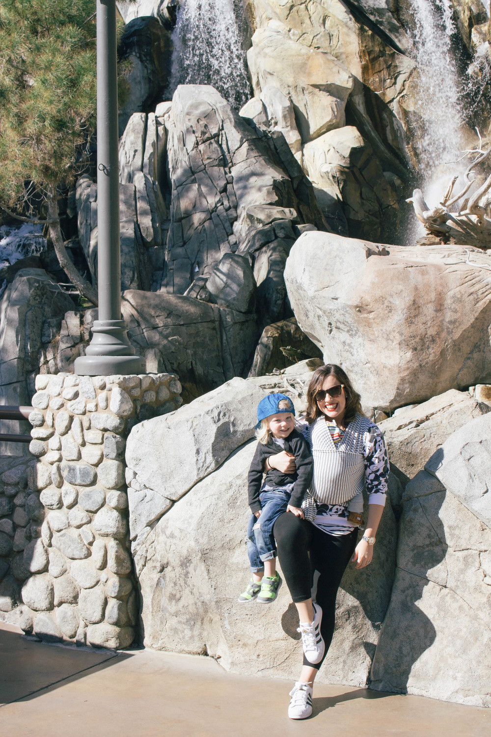 Disneyland with a newborn and toddler