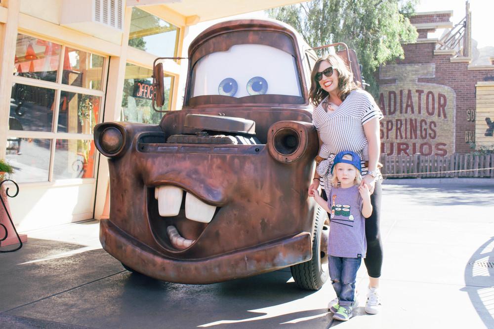 Mator at Disneyland