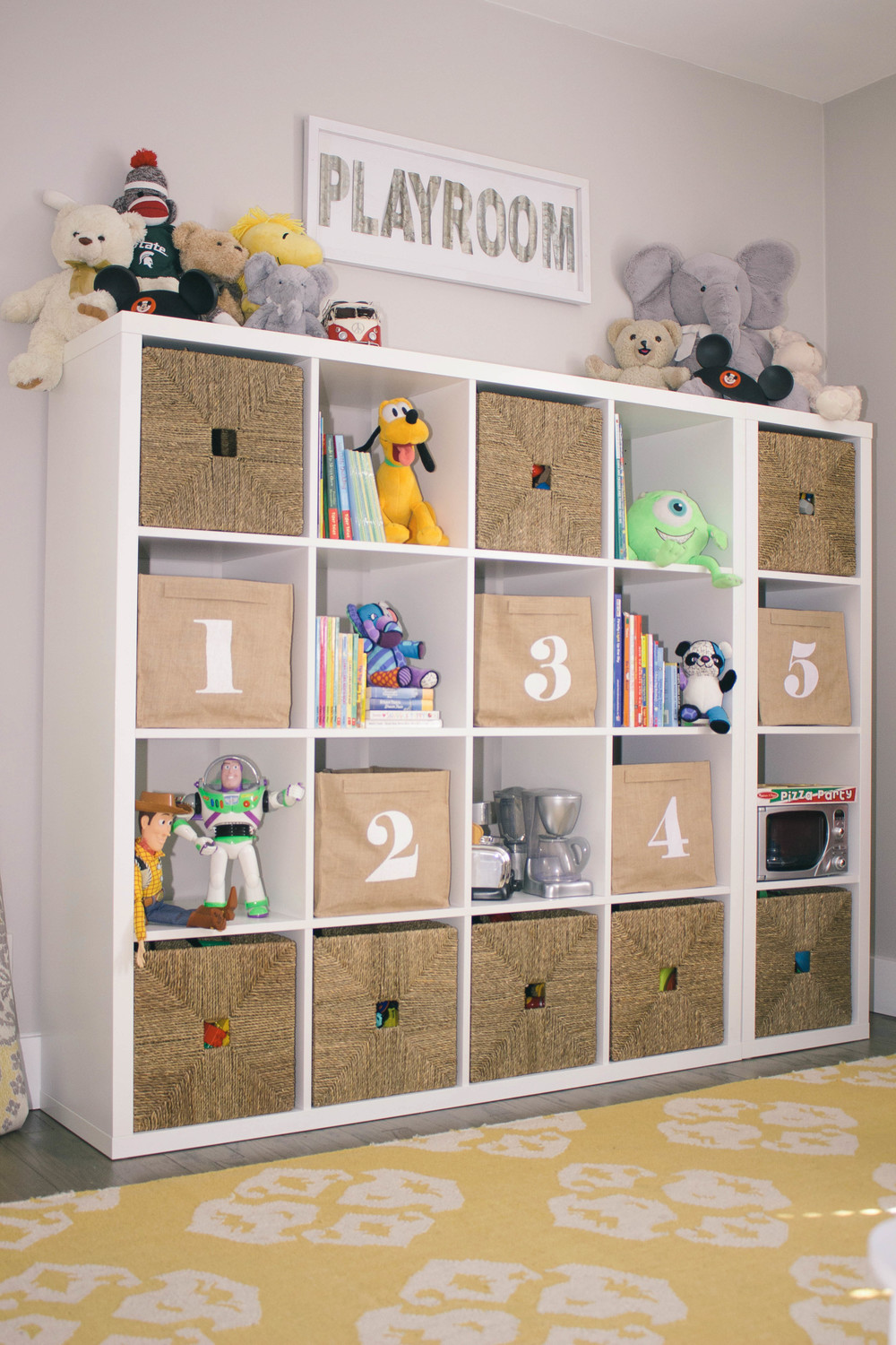 kids playroom storage ideas