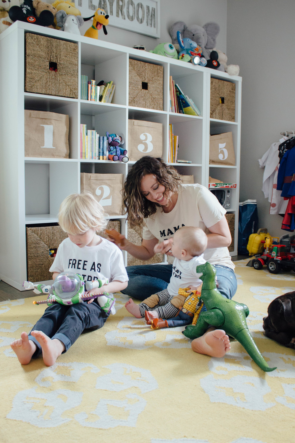 playroom ideas and tips and tricks for being a stay at home mom