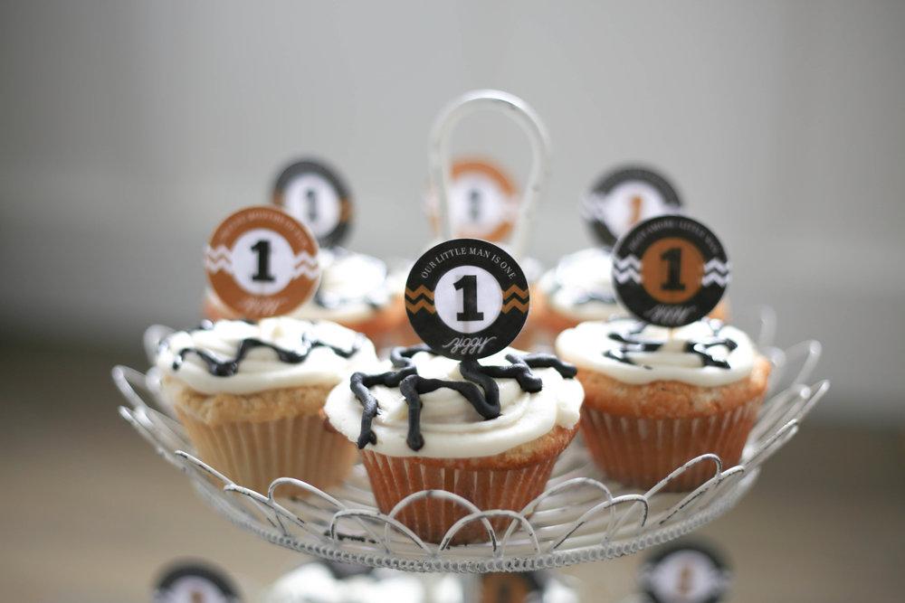 zigzag cupcakes