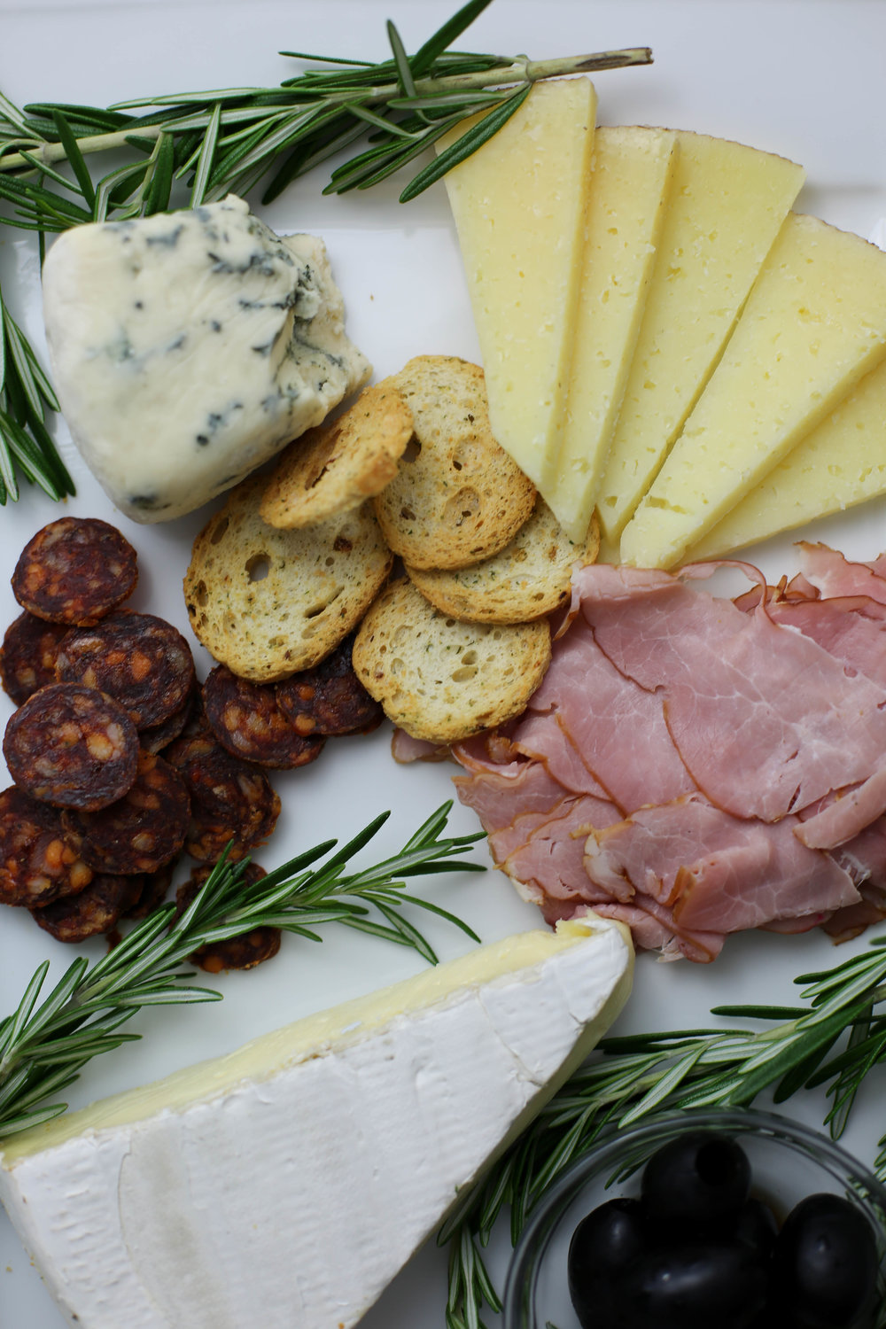 meat & cheese tray perfect for date nights in.