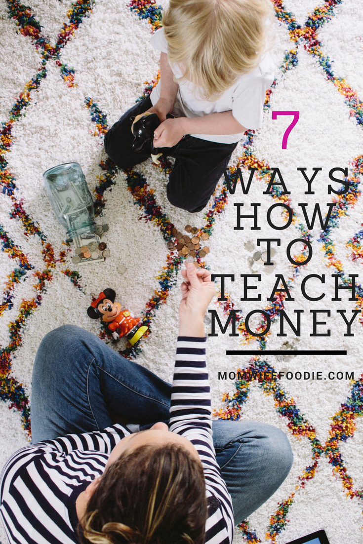 7 different ways to teach your kids to count money. A life skill.