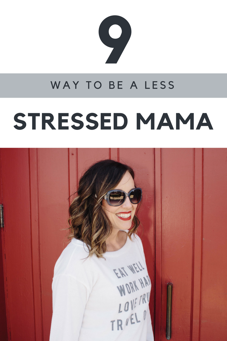 how to be a happier less stressed mom.
