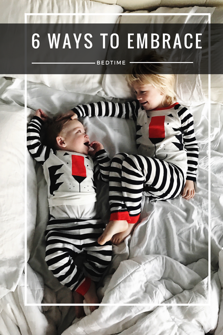 bedtime with toddlers