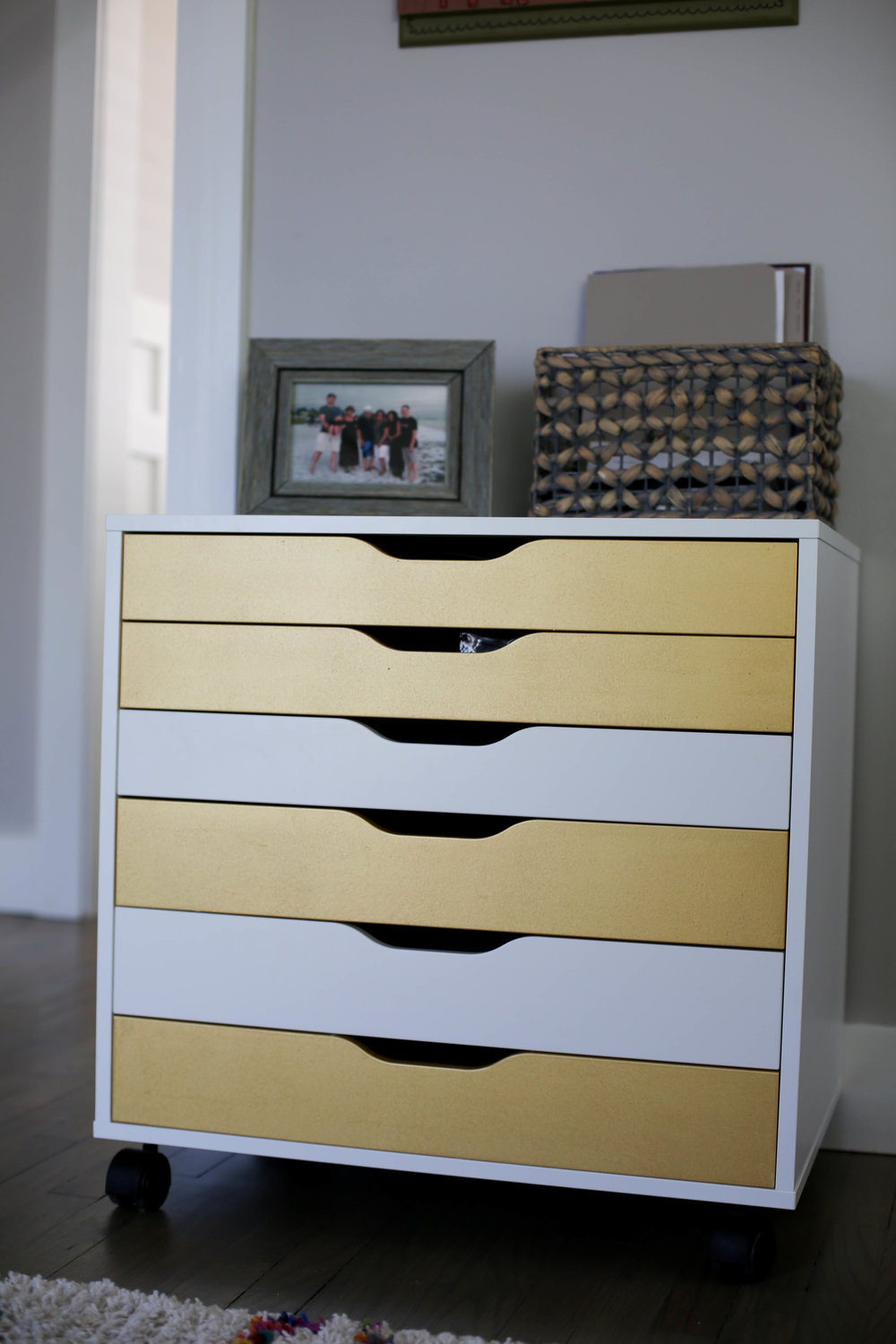 gold drawers for office space