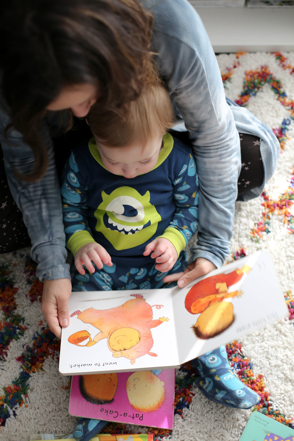 tips to reading to toddlers