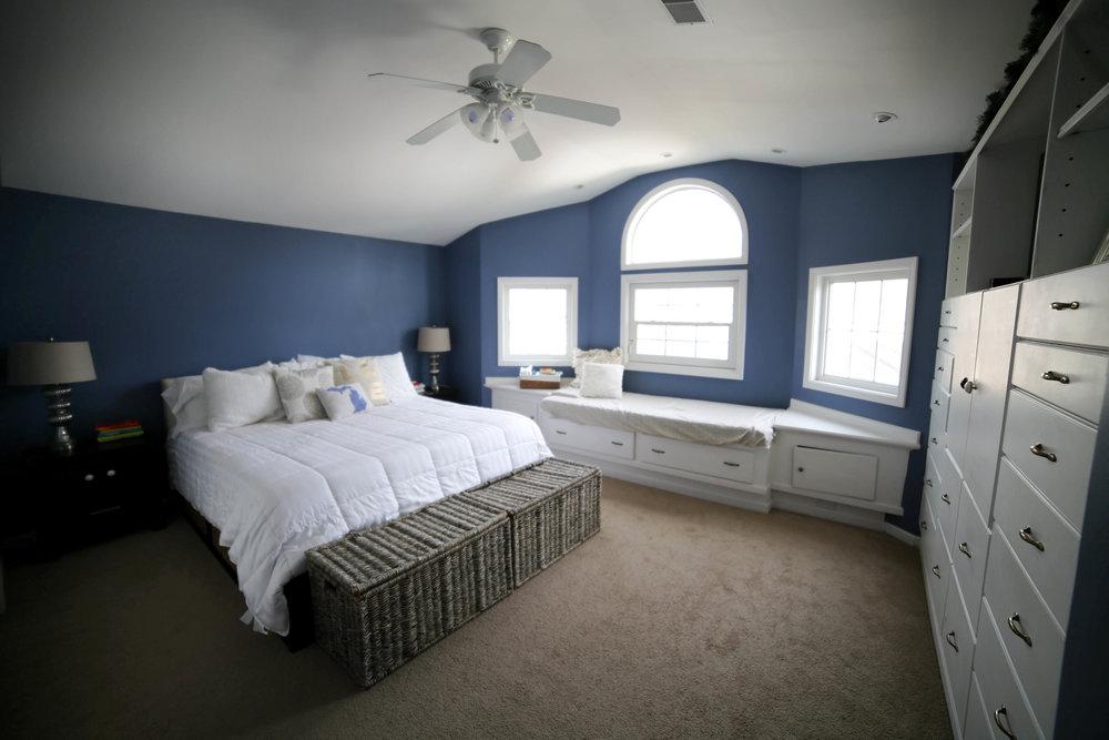 before master bedroom makeover images