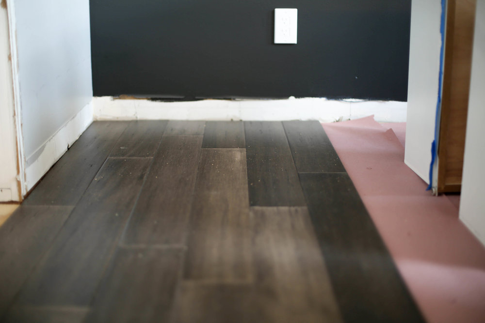 gray bamboo flooring