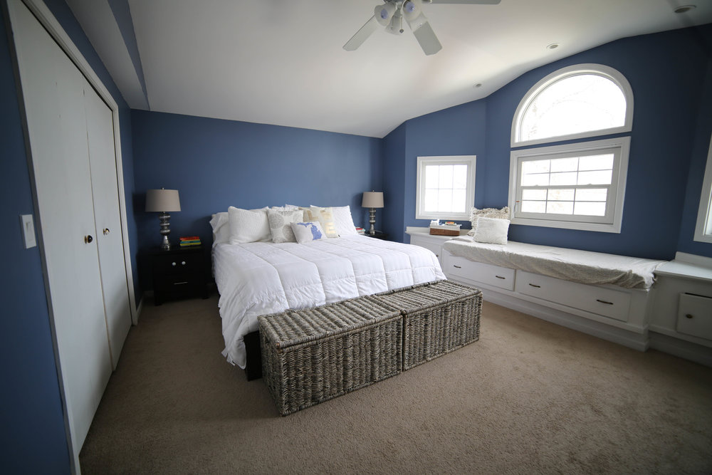 before renovation master bedroom picture