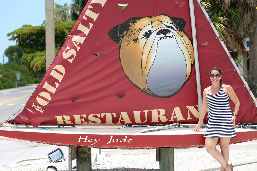 sailboat, outdoor dining, flordia, salty dog,