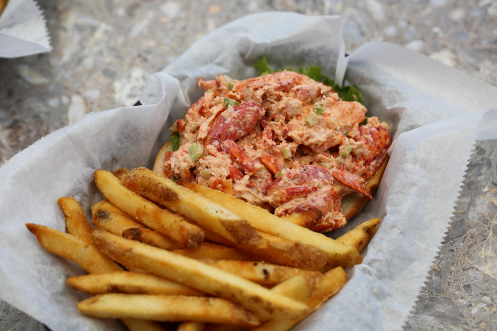 lobster roll,  Sarasota Florida best food