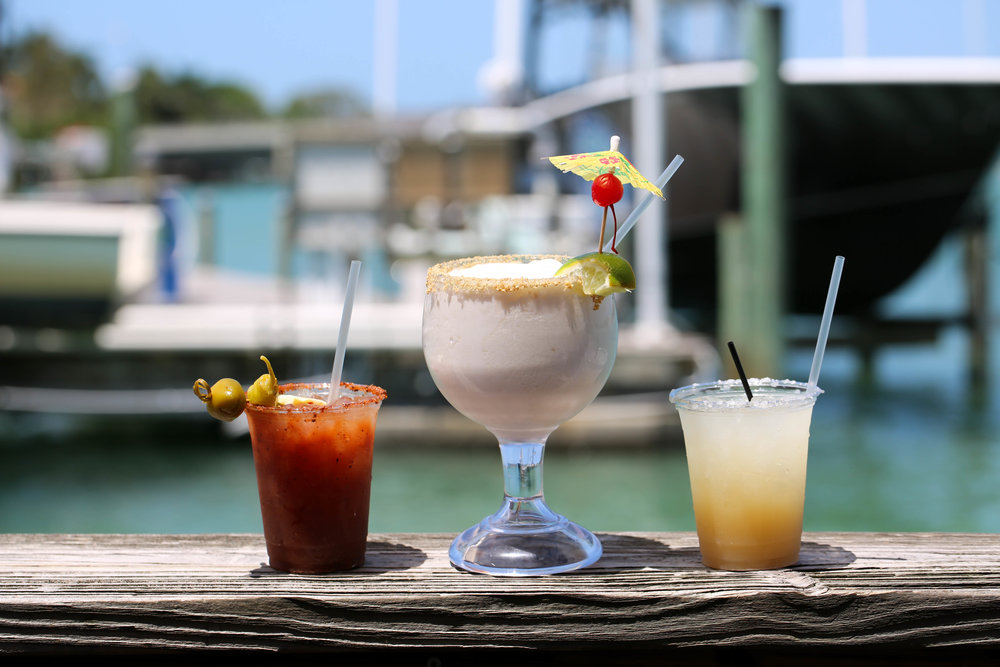Sarasota Florida best bar, bloody mary, salty dog, key lime drink