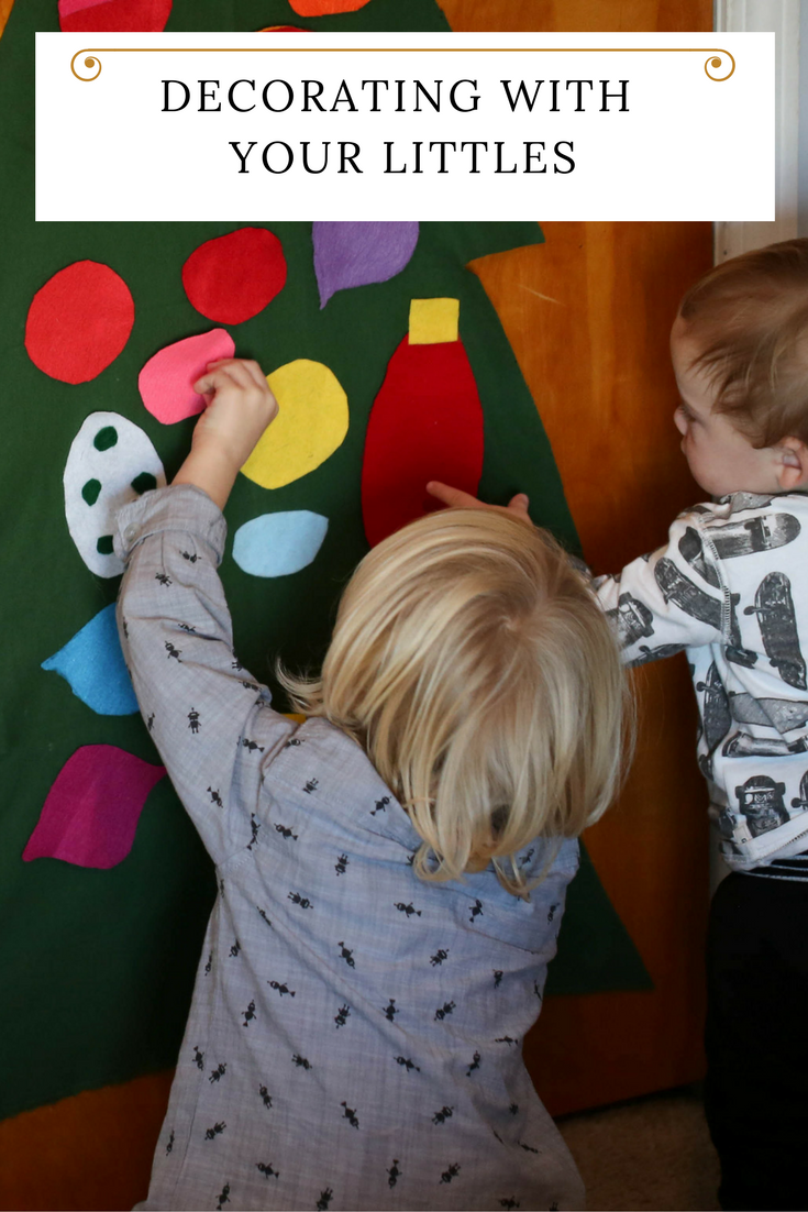 5 easy ways to decorate for the holiday with toddlers
