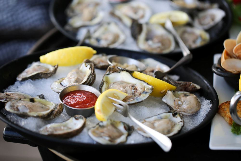 oysters, florida food, island living, local oysters