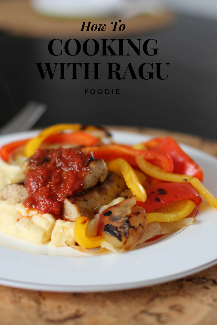 Ragu recipe: Sausage, peppers and polenta, little moments, family traditions, finding balance in a busy schedule, cooking with kids, cooking with ragu, ragu, Italian sausage,