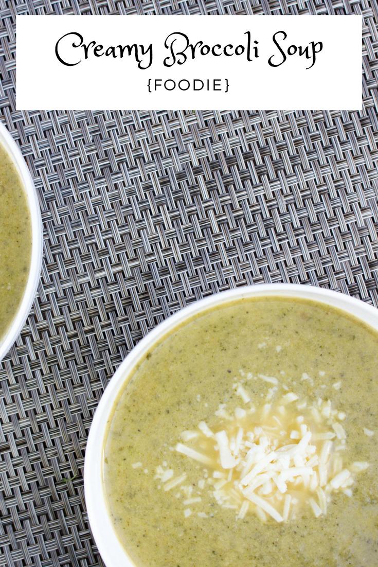 creamy broccoli soup recipe, creamy broccoli soup, soup recipe, broccoli soup recipe, broccoli, fresh foods, coconut oil, garlic cloves, arugula, chicken broth, lemon juice, mozzarella cheese, almond milk, almond milk in soup recipe,