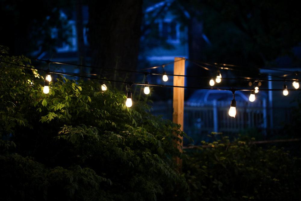 backyard lights, outdoor lights, outdoor magic,
