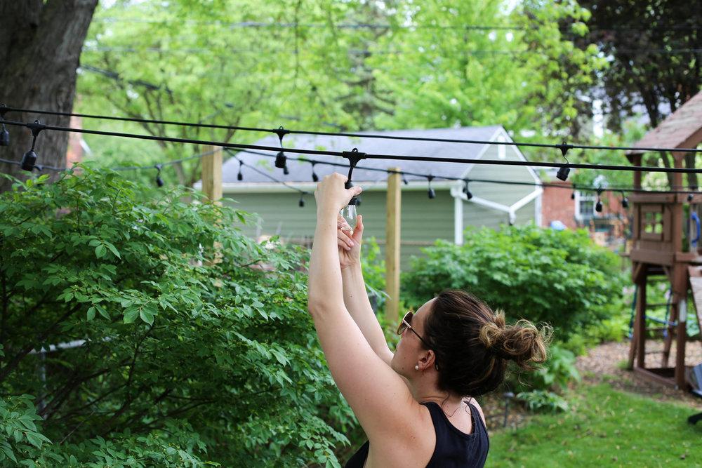 installing lights, how to install outdoor lights, outdoor lighting