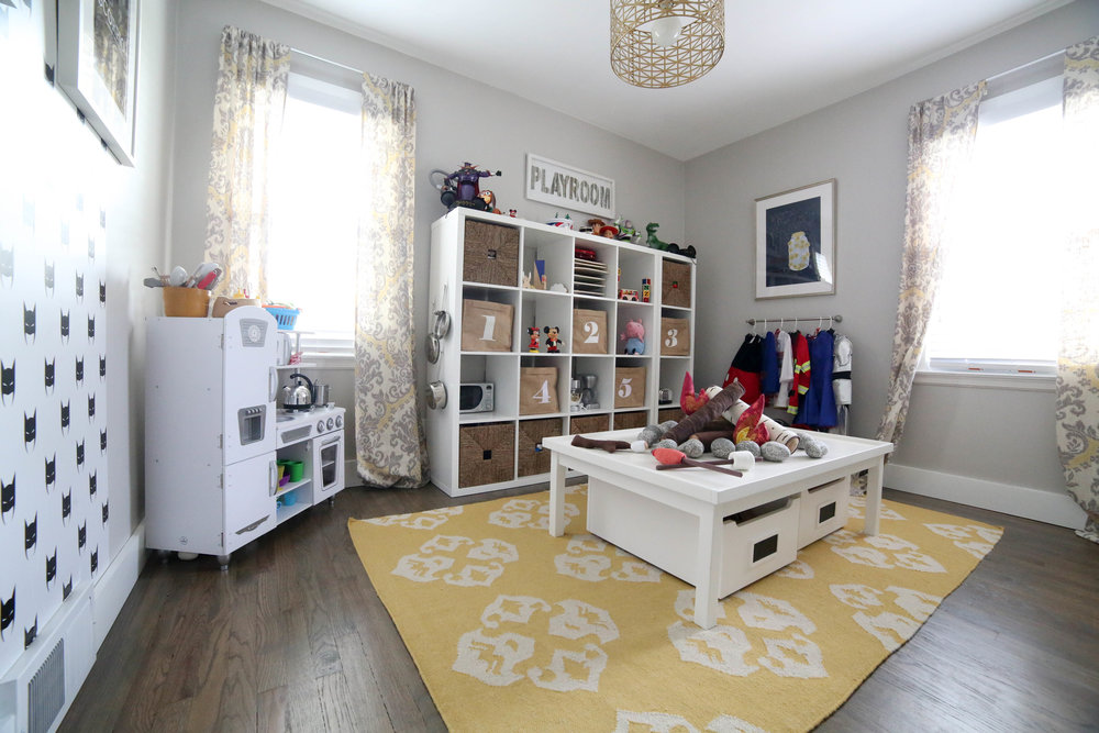 How To Add Character To Any Kids Room, Playroom, Kids Playroom, Storage Bins