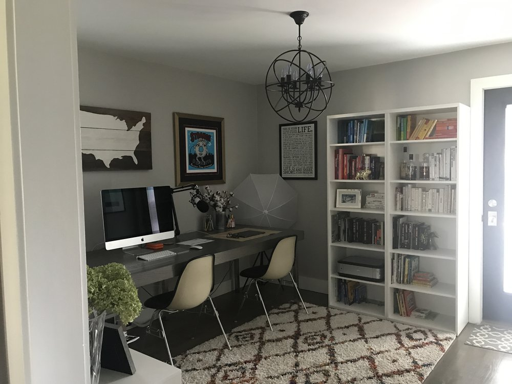 DIY Custom Home Office