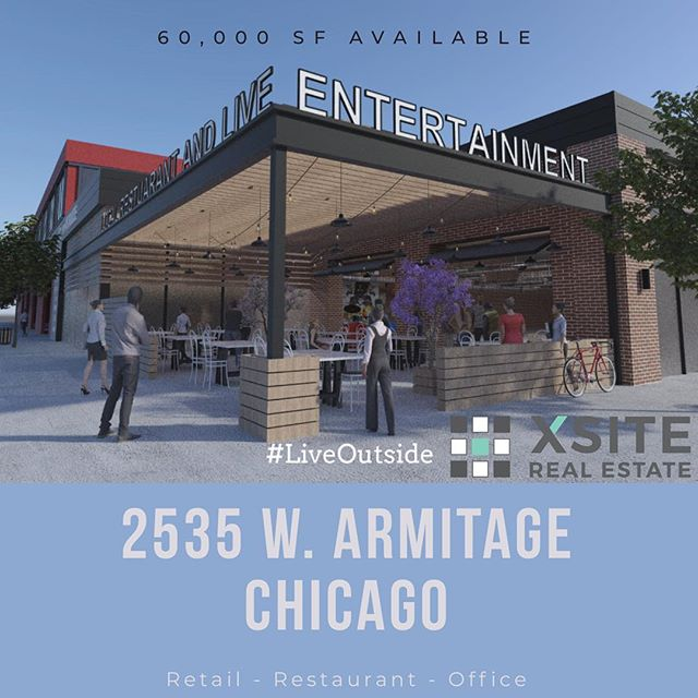 Redevelopment coming to Logan Square Chicago.
