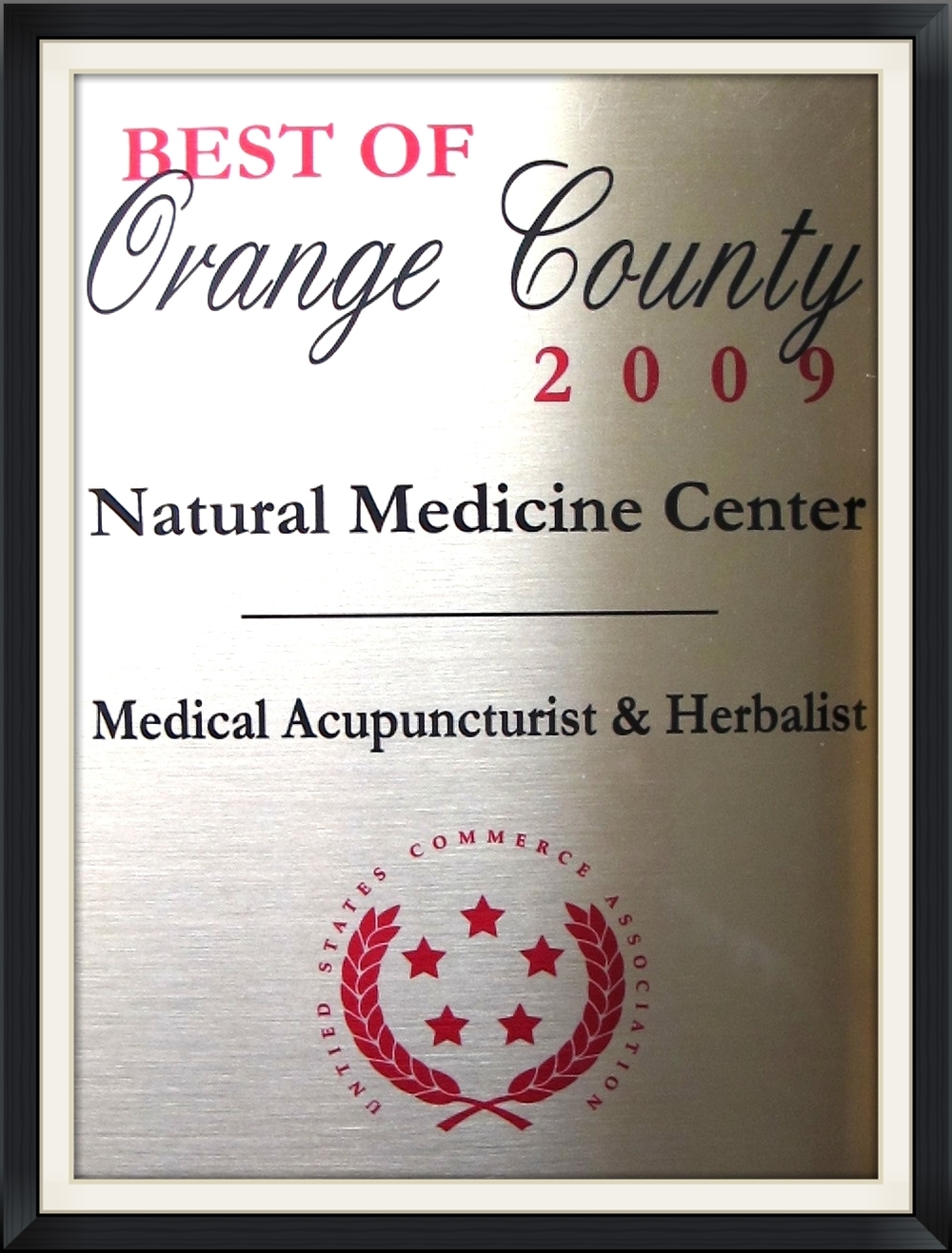 BEST OF ORANGE COUNTY - NATURAL MEDICINE CENTER