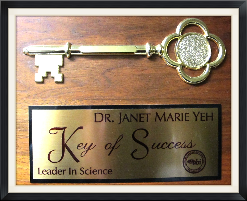 Leader in Science Doctor Janet Marie Yeh