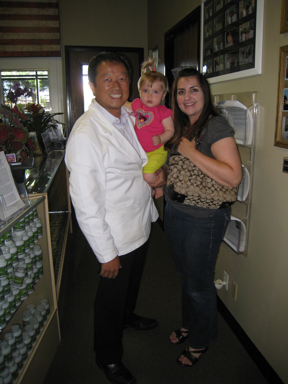 I began going to Dr. Kevin Huang when we decided to try acupuncture after reading his testimonials in 2011. I am glad to say that we were fortunate enough to welcome our beautiful daughter Brynn September of 2012. It has been a long journey and we are going to attempt to give Brynn a sibling. There is no doubt that I will surely continue going to Dr. Huang. I recommend anyone with fertility issues to see him before fertility treatments.  He has a great staff and the environment is one that is always warm and welcoming.