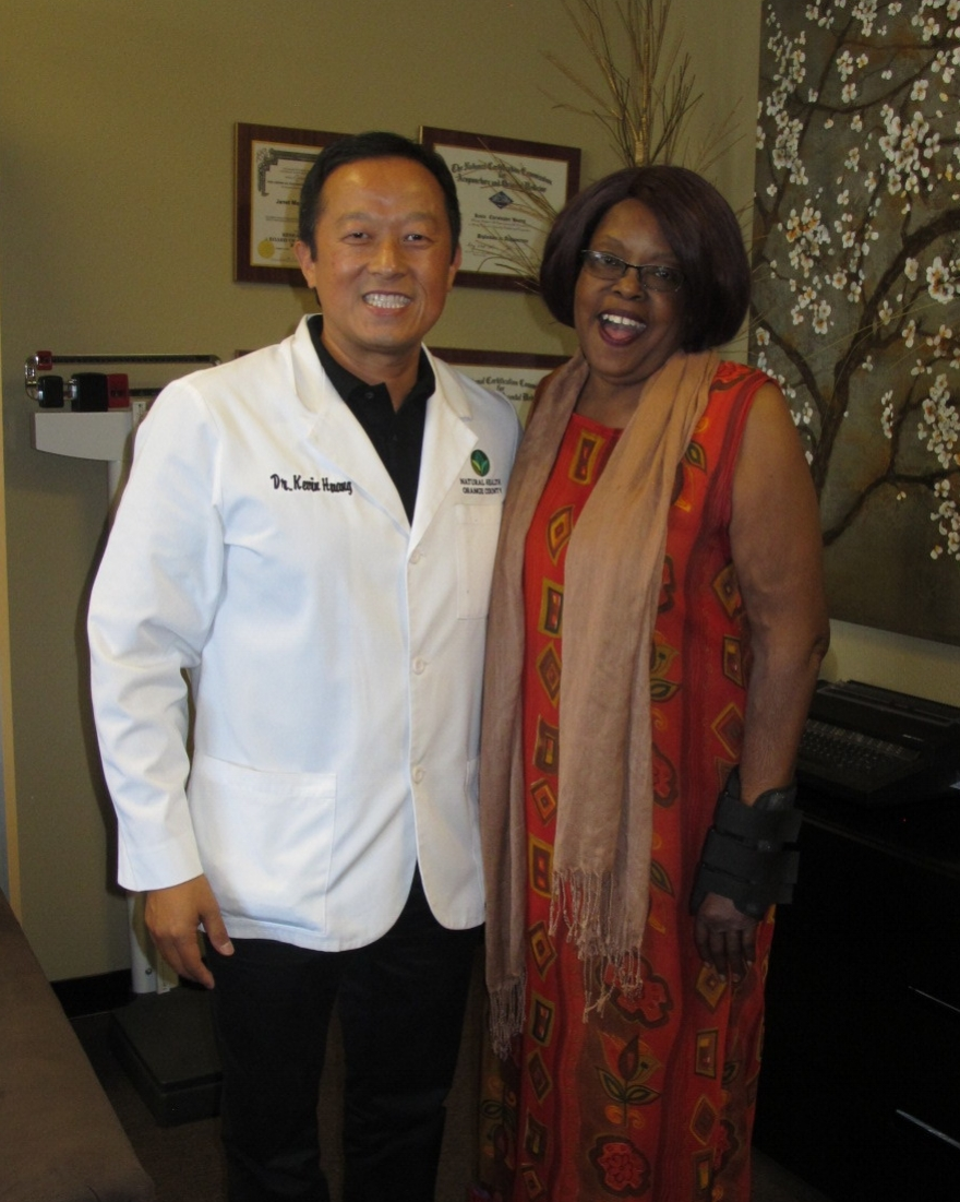 I was diagnosed with Lower Complex Regional Pain Syndrome. Doctors wanted to shock my system to see if it would bring my hand back to normal and I was terrified at the thought of more surgery. I would pray and cry to the most high to show me a Natural Medicine. I give all my praises to the most high, YAH led me to Dr. Kevin Huang