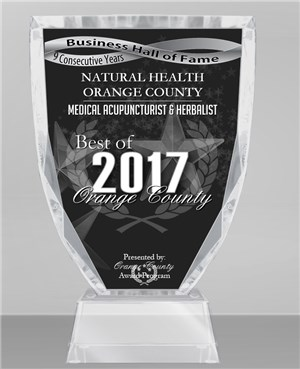 NINE CONSECUTIVE YEARS BEST OF ORANGE COUNTY