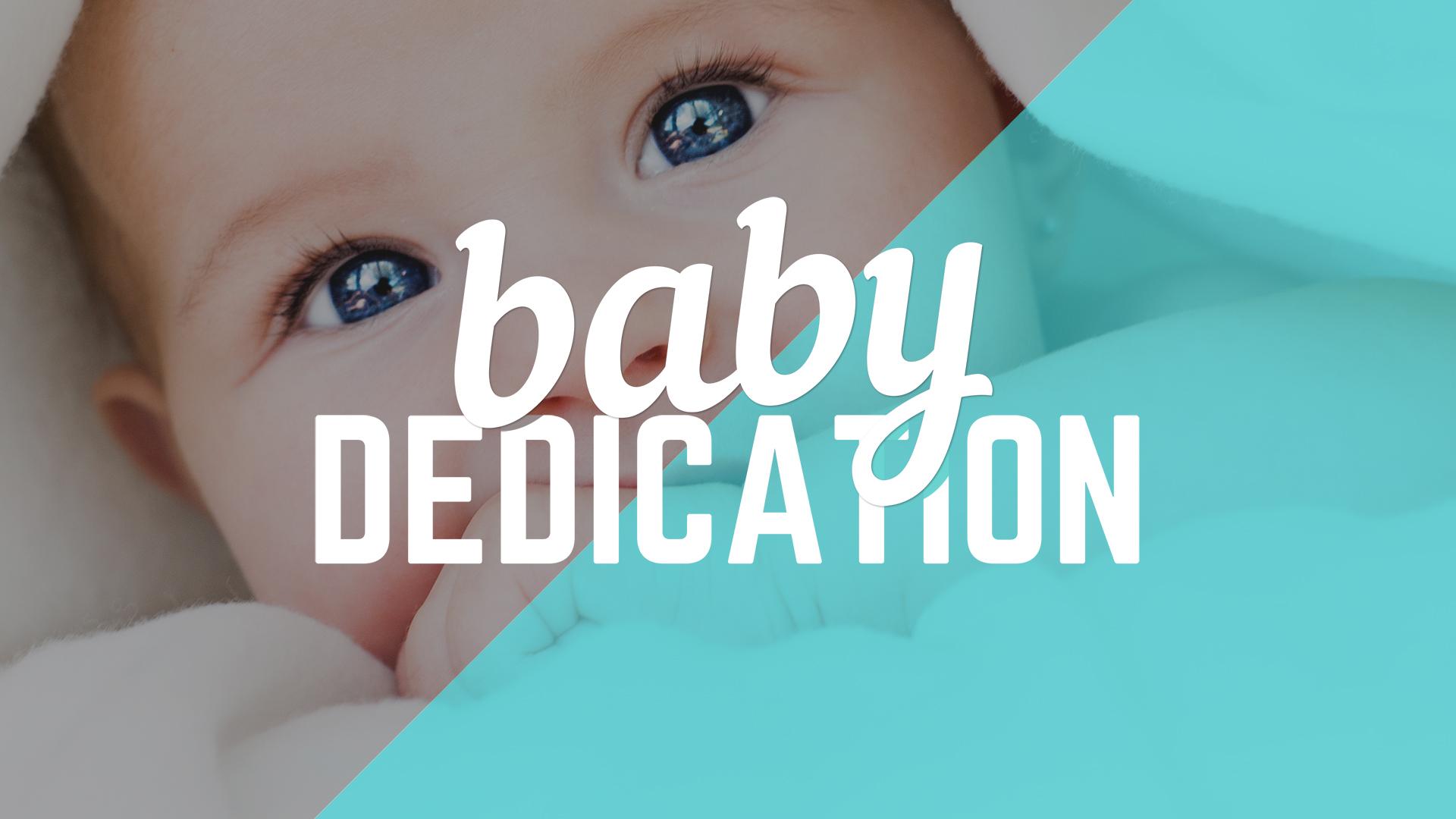 Baby Dedication Parent Class