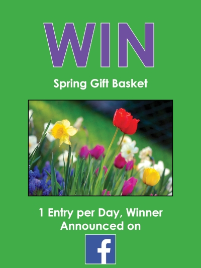2 chances to win! - Enter Monthly Raffle-1 entry per day -2 winners every month!