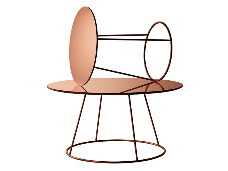 Swedese Breeze Coffee Table Copper