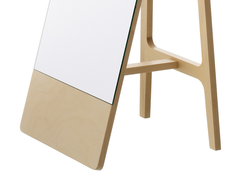 swedese mira free standing mirror