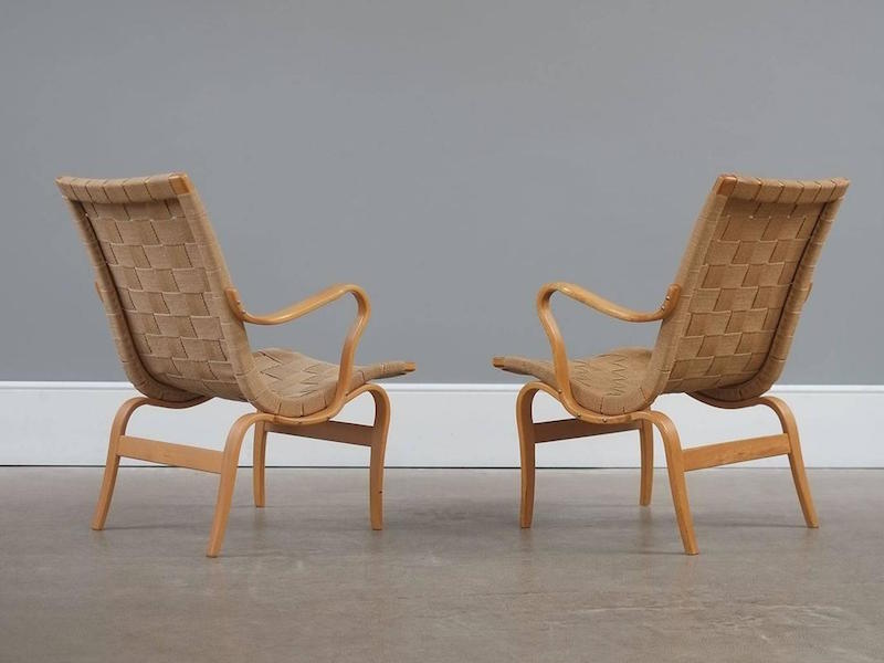Beau Bruno Mathsson Eva Armchair