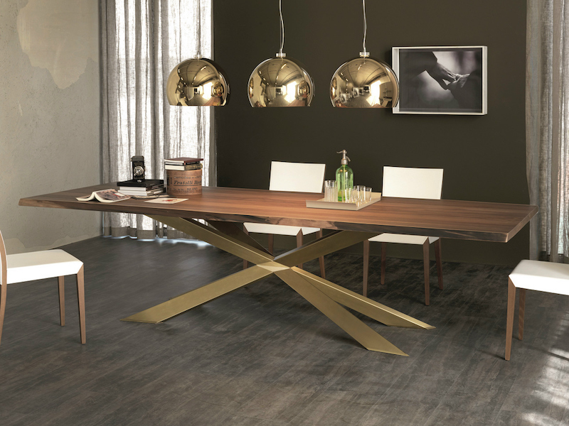 Cattelan Italia Spyder Wood Table - Furniture File Ltd