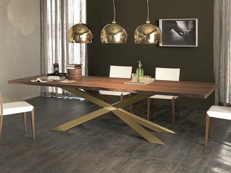 Cattelan Italia Spyder Wood Table - Furniture File Ltd
