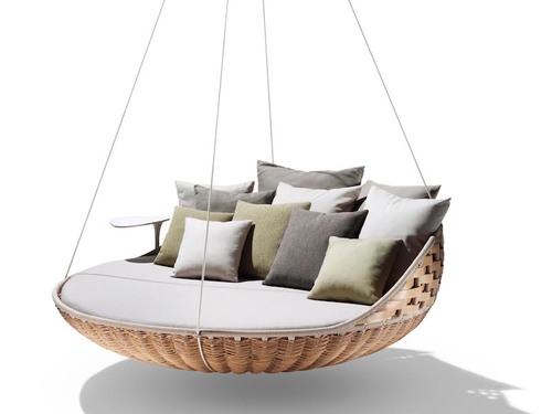 Dedon De dedon swingrest hanging lounger furniture file ltd