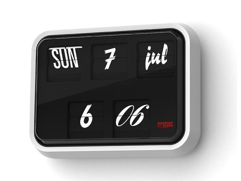 Established and Sons Font Clock