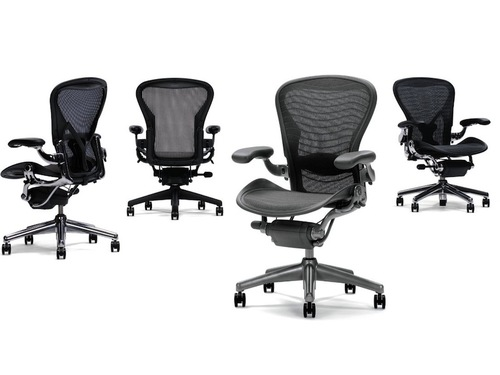 herman miller aeron office chair detail - furniture file ltd