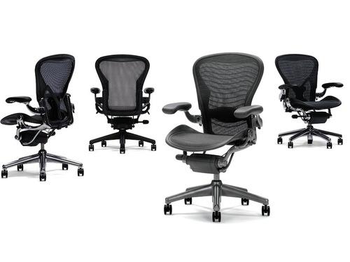 herman miller aeron office chair detail - furniture file ltd