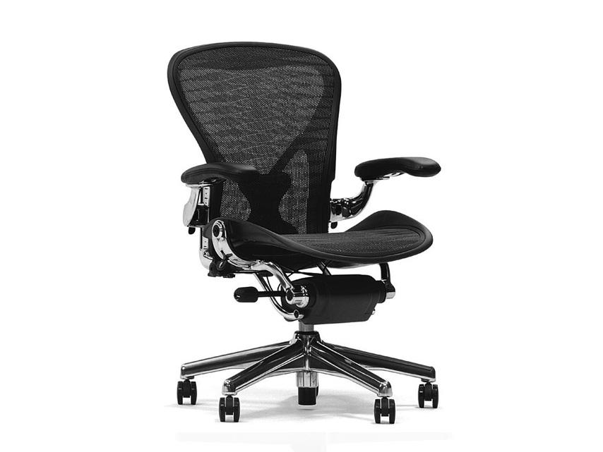 Herman Miller Aeron Office Chair Detail