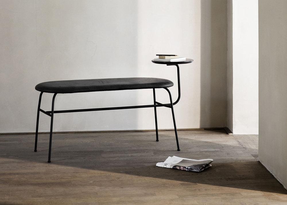 Menu Afteroom bench, designed by Afteroom