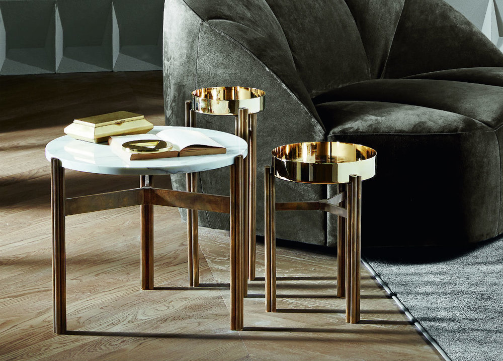 Twelve table, designed by Massimo Castagna for Gallotti & Radice