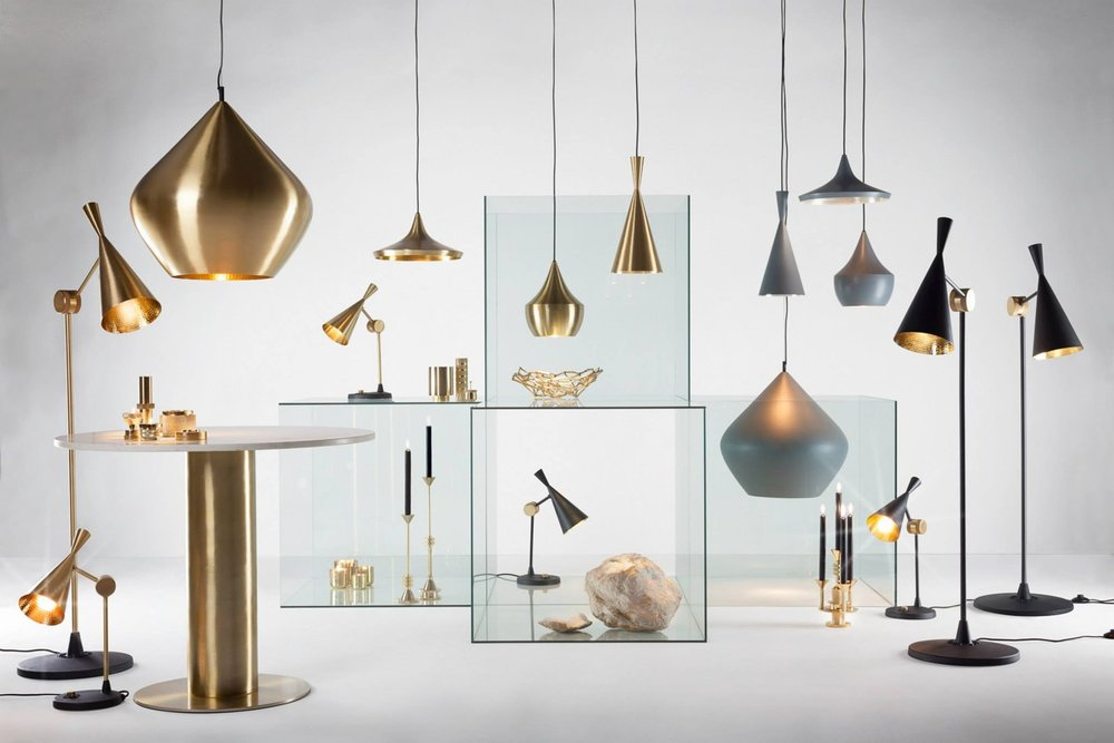 Furniture and lighting collection, designed by Tom Dixon