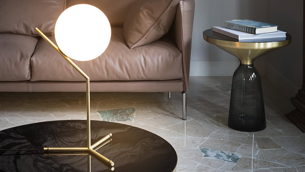 IC table lamp, by Michael Anastassiades for Flos Lighting