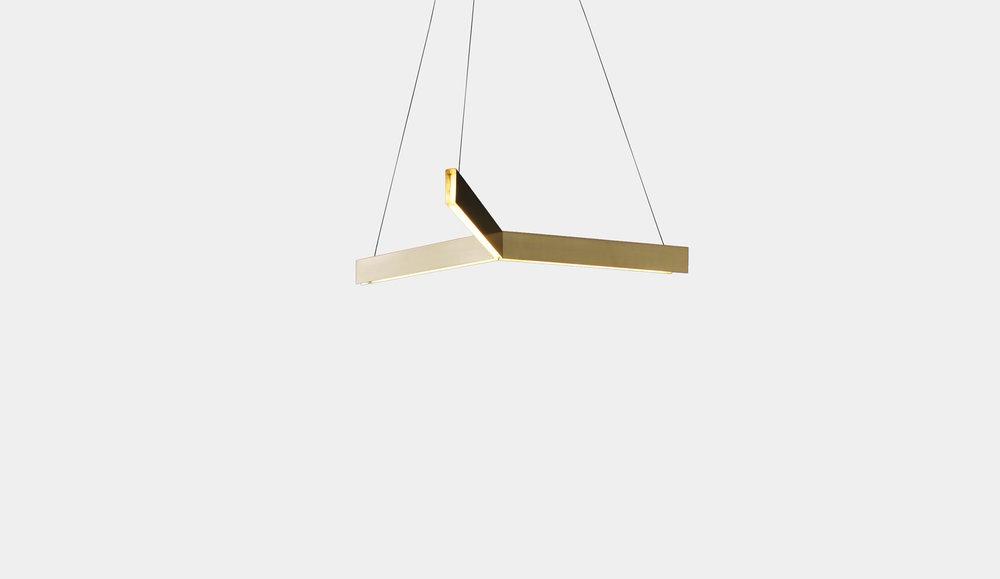 Tri pendant light, designed by Resident Studio